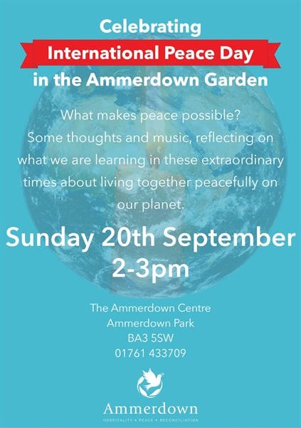 International Peace Day at Ammerdown Zoom